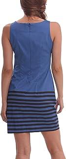فستان Bruk قصير بدون أكمام للنساء من ديسيجوال