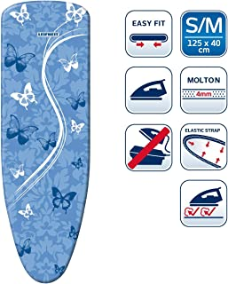 Leifheit 72262 Bügeltischbezug Air Board Thermo Reflect M VS Funda para Tabla de Planchar, Tela, Azul