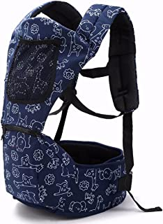 Baby Carriers for Waist 27 INCHES to 40 INCHES Ergonomic Baby Backpacks at for All Seasons, Adjustable Waist (Don't Choose Wrong Size)