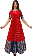 Mohtarma Women's (Full stiched) South Indian Gown