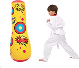 JOYIN Inflatable Bopper, 47 Inches Kids Punching Bag with Bounce-Back Action, Inflatable Punching Bag for Kids Gift