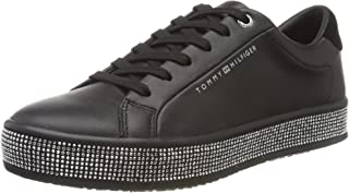 Tommy Hilfiger ELEVATED PATENT JEWELED SNEAKER Women's Shoes