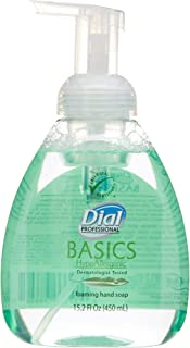 Dial Professional Basics Foaming Hand Soap, Honeysuckle, 15.2 oz. Pump Bottle