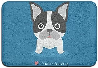 I Love French Bulldog Doormats Anti-slip House Garden Gate Carpet Door Mat Floor Pads