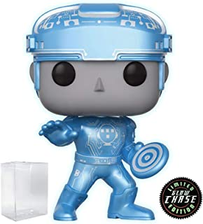 Funko Pop! Disney: Tron - Tron Limited Edition Chase Variant Vinyl Figure (Includes Pop Box Protector Case)