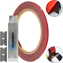 3M Double Sided Tape Heavy Duty: Mounting Tape Converted from 3M VHB 5952, (0.125 in x 15 ft) Super Strong Foam Tape for Outdoor and Indoor