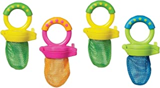 Munchkin 4 Pack Fresh Food Feeder, Colors May Vary,2-packs(4 feeders to one unit)