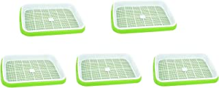 Cedmon Seed Sprouter Tray BPA Free Nursery Tray for Seedling Planting (5)