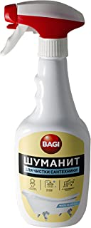 BAGI Shumanit SANTEHNIKA For cleaning plumbing. Universal concentrated product for complex cleaning of the bathroom and toilet rooms