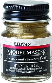 BRASS 1/2 oz Enamel Paint Bottle by Testor Corp.