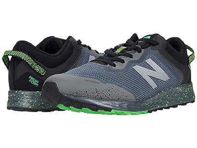 New Balance Kids Fresh Foam Arishi Trail (Little Kid/Big Kid) (Lead/Black 1) Boys Shoes
