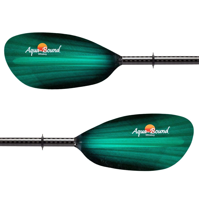 AQUA BOUND Whiskey Carbon Straight Shaft Kayak Paddle