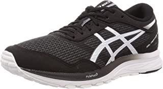 ASICS Men's Black/White Running Shoes-8 UK (42.5 EU) (9 US) (1011A811)
