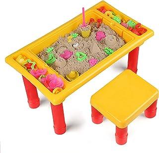 Ruimte zand indoor zand speelgoed set huishoudelijke veiligheid en milieubescherming kinderen zand klei speelgoed zandtafe...