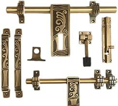 "Tredwere Door Kit Brass""Antique (Premium Quality) Heavy Kit (M-135)"