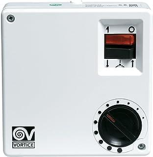 Vortice SCRR5- Ventilador para caja de ordenador (Color blanco, Giratorio, 220 - 240V, 100W, 580g)