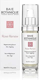 Anti-Ageing Face Serum 50ml - Hyaluronic Acid, Rosewater, Rose Absolute, Rosehip Seed Oil, Glycolic Acid - Award Winning - 98% Natural 80% Organic