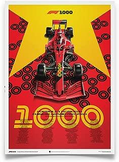 Automobilist Formula 1 - Heineken Chinese Grand Prix 2019 - Unique Design Poster - Standard Poster Size 19 ¾ x 27 ½ Inch