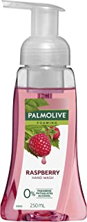 Palmolive Foaming Hand Wash Soap Raspberry Pump 0% Parabens 0% Phthalates 0% Alcohol Recyclable, 250mL