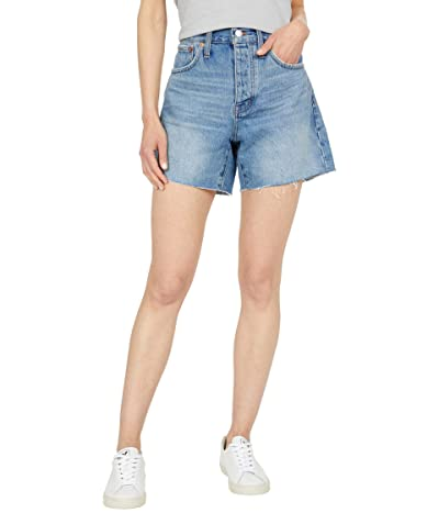 Madewell Relaxed Mid-Length Denim Shorts in Scottsburg Wash