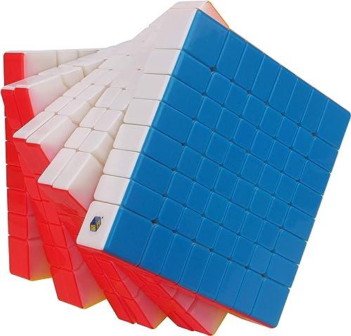 2x2x2 bis 11x11x11 magischer Würfel ohne Aufkleber Magic Cube Puzzles Spielzeug (8x8x8)