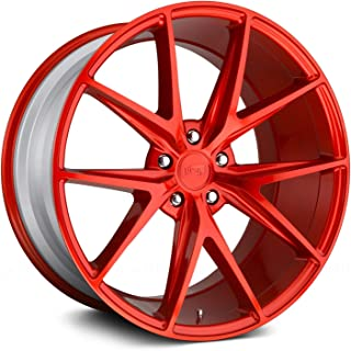 Niche M186 Misano 20x9 5x114.3 +35mm Candy Red Wheel Rim