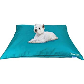 """Dogbed4less Do It Yourself DIY Pet Bed Pillow Duvet Waterproof Cover for Dog or Cat in Medium 37""""X29"""" or Large 48""""X29"""" Vibrant Color - Cover only"""