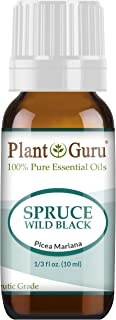 Wild Black Spruce Essential Oil 10 ml 100% Pure Undiluted Therapeutic Grade.