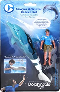 The Clearwater Marine Aquarium Sawyer and Winter Movable Action Figure