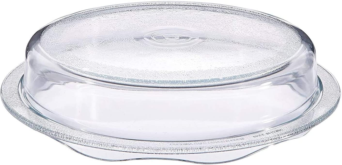Cuchina Max 90% OFF Safe 2-in-1 Cover online shopping 'n Cook Plate Glass C Microwave Vented