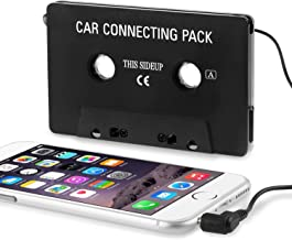 Insten Cassette Adapter Car Tape Deck Compatible with Samsung Galaxy S10/S10 Plus/S10e/S9/S9+/S8/S8+/Huawei Google Nexus 6P/iPhone 4 4th Version iPhone 4S - AT&T, Sprint, Version 16GB 32GB 64GB