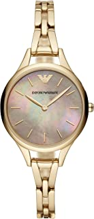 Emporio Armani Women's AR11140 Analog Quartz Gold Watch