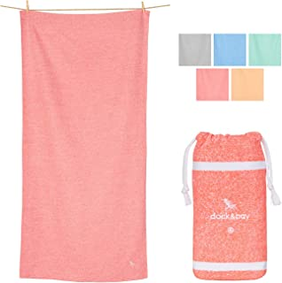 Dock & Bay Quick Dry Towel for Gym & Yoga, Lightweight...
