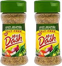 Mrs. Dash Spicy Jalapeño Seasoning Blend 2.5 Oz - Pack of 2