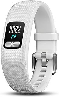 Garmin Vívofit 4 Fitness Tracking Watch, Adult Small/Medium (White)