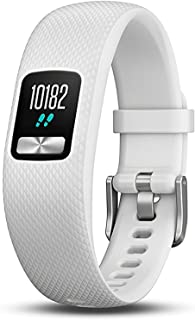 Garmin Vívofit 4 Fitness Tracking Watch, Adult Small/Medium (White)