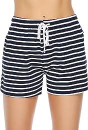 Bas de Pyjama 100% Coton Femme été Shorts Couleur