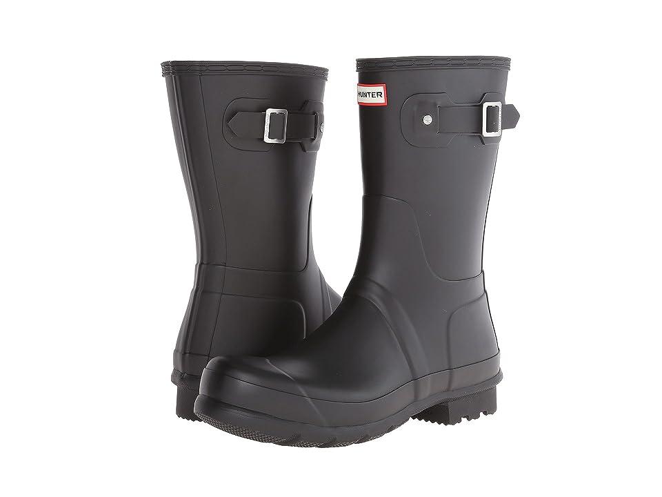 Hunter Original Short Rain Boots (Black) Men