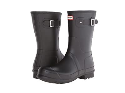 Hunter Original Short Rain Boots (Black) Men