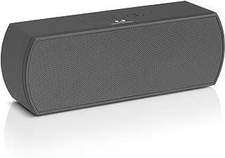 Fresh 'n Rebel RockBox Portable Bluetooth Speaker, Curve, Gray