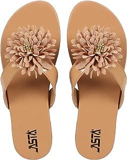 Jasta Women Leather Flats Sandal