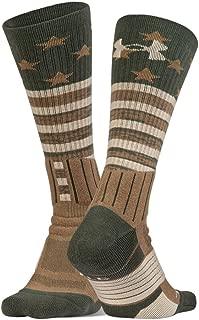 Adult Unrivaled Stars & Stripes Crew Single Socks