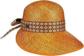 Lipodo Cappello di Paglia Andessa Donna - Made in Italy Visiera da Sole Estivo con Primavera/Estate