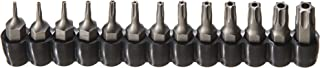 ARES 70093-13-Piece Tamper Resistant Star Bits - S2 CNC'd Security Bits - Storage Holder Included