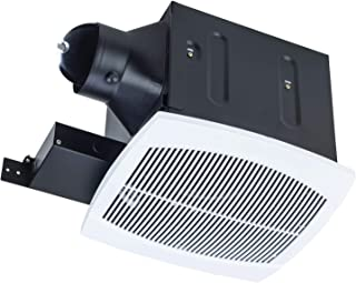Miseno MBF080-WH 80 CFM Ultra Quiet (<0.3 Sone) Energy Star Rated Exhaust Fan with 4