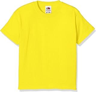 cdbd83cfddd9 Fruit of the Loom Kids / Childrens Plain T Shirt, T-shirt, Tee