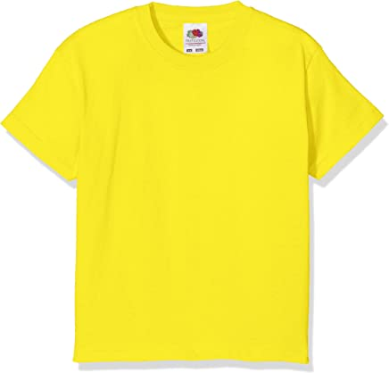 Fruit of the Loom Kids / Childrens Plain T Shirt, T-shirt, Tee Shirt