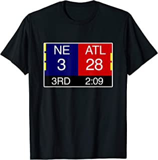 Final NE 3 ATL 28 T-Shirt | Great Comeback Shirt