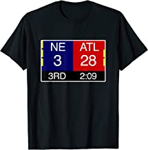 Final NE 3 ATL 28 T-Shirt | Great Comeback Shirt