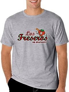 Los Freseros de Irapuato T-Shirt for Men's Color Gray